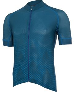 Blaue Berge Race-Trikot sportiv ultraleicht vorne