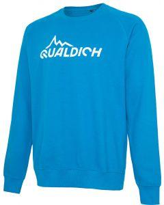quäldich-Sweatshirt hellblau