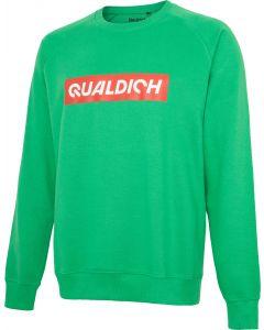 quäldich-Sweatshirt grün
