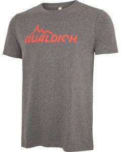 quäldich-T-Shirt dunkelgrau