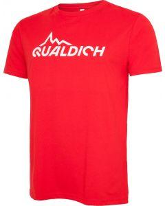 quäldich-T-Shirt rot