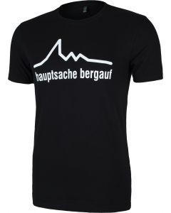 hauptsache bergauf T-Shirt quaeldich.de