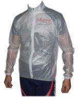 Regenmembranjacke transparent